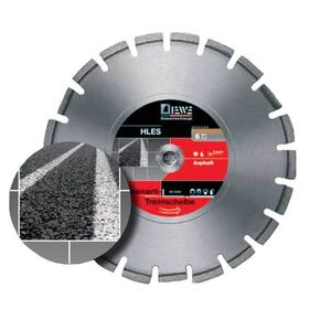 DIEWE  Δίσκος κοπής ασφάλτου Φ500mm  D232 σε 12 Άτοκες Δόσεις