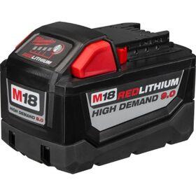 MILWAUKEE Μπαταρία Υψηλής Απόδοσης 18V Li-ion 9.0 Ah M18-B9 σε 12 Άτοκες Δόσεις